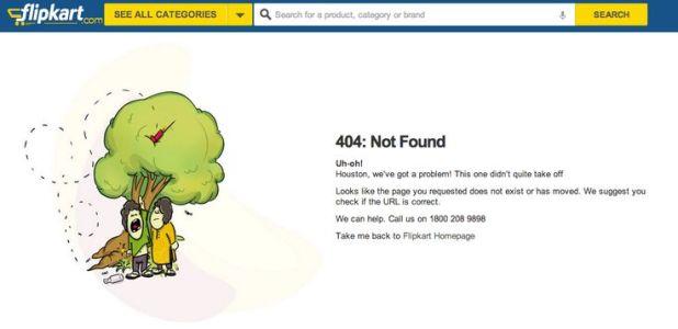 Flipkart 404